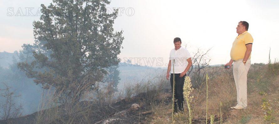 Над 150 пожара вилняха само през  последните дни в региона