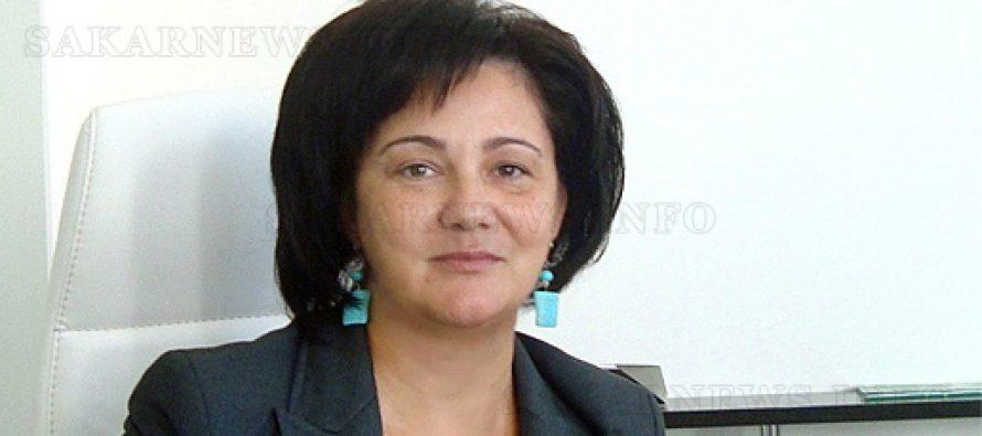 Диана Овчарова е избрана за кмет на месеца