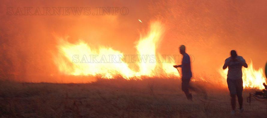 По-големите пожари през последните години в региона