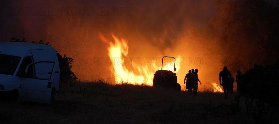 Около село Радовец и тази година не мина без пожар