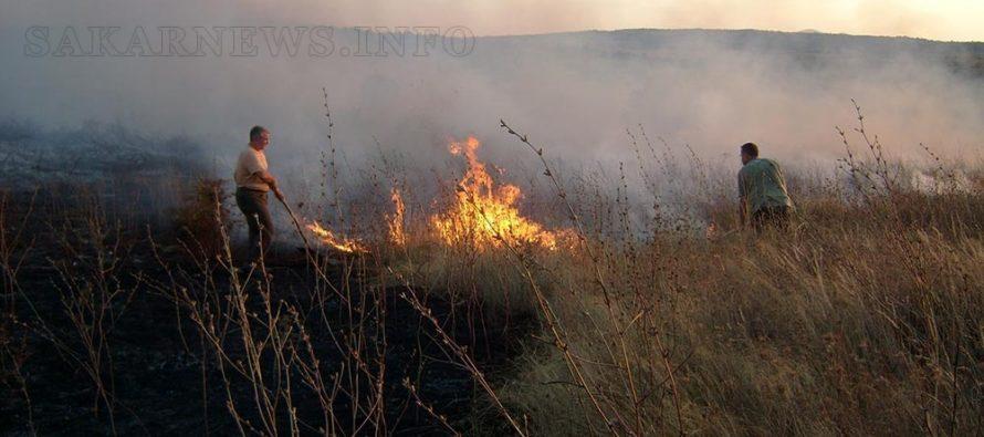 Евакуираха пациенти заради пожар край Радовец