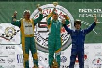 Драгомир стана първи в кръг от  Национален пистов шампионат