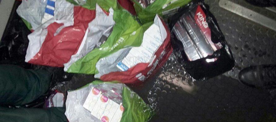 Намериха контрабандни цигари в резервоар за вода на вагон