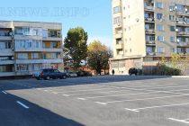 Новият паркинг в центъра на Любимец е готов
