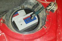 Контрабандни цигари в резервоар откри мобилна митническа група