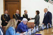 Министър Бъчварова награди старши комисар Ангел Цанков с почетно отличие