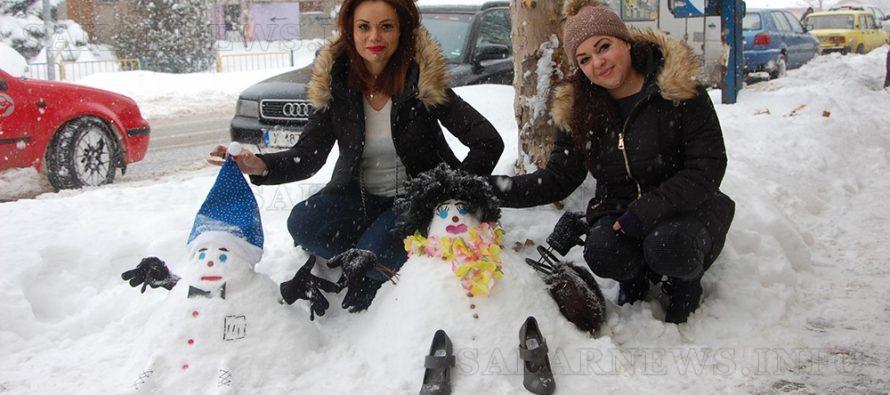 Многото сняг донесе и много радост