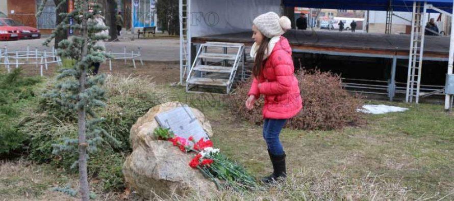 С възпоменатeлна церемония в Любимец се преклониха пред паметта на Апостола на свободата