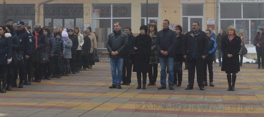 В Тополовград бе отбелязана годишнината от обесването на Левски