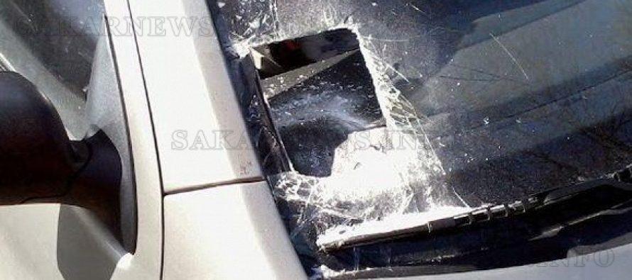 Счупиха стъкло на автомобил заради винетка