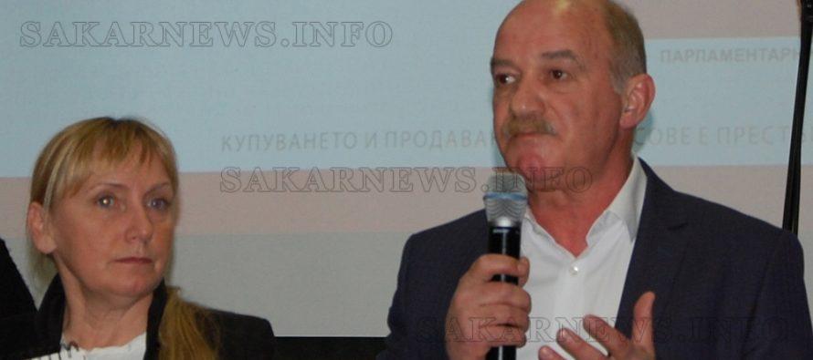 В Харманли БСП  представи вижданията си за промяна на  България