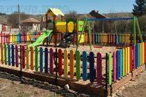 В Тополовград  изградиха нови детски площадки