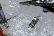 На митницата задържаха фалшиви дрехи в полски камион