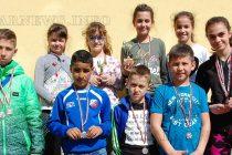 С още 11 медала нараснаха  успехите на малки атлети