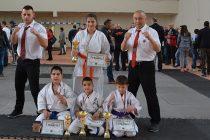 Златни медали спечелиха трима  от Национален турнир по кудо