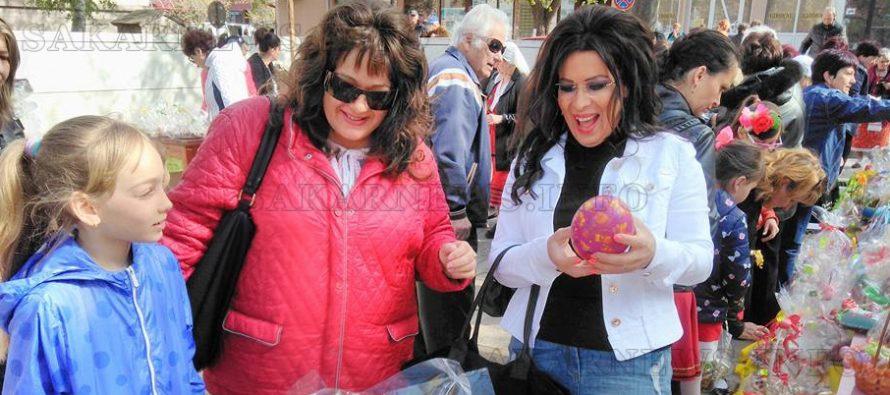Цветен Лазаровден с песни, танци и  базар в Града на Белоногата