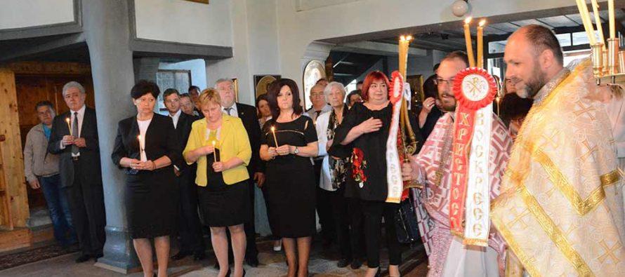 Митрополит Киприян отслужи молебен за преуспяване на Харманли
