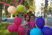Детски усмивки грейнаха в центъра на града