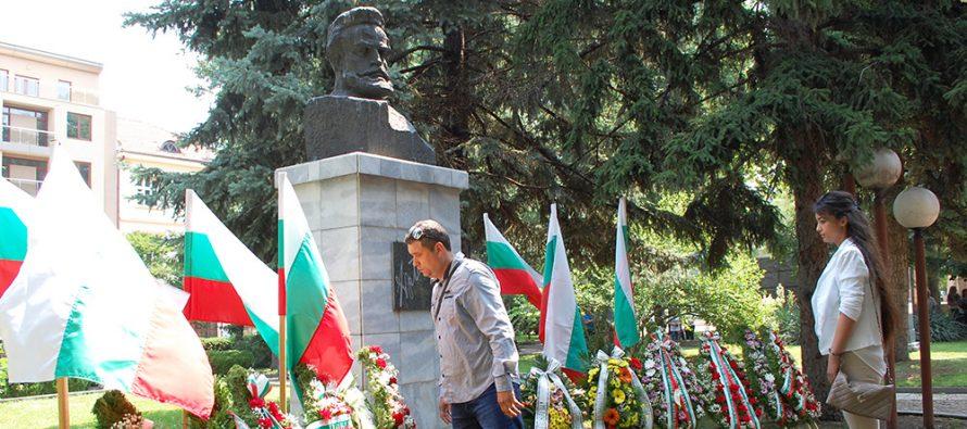 Харманли се поклони пред Христо Ботев за 141-ви път
