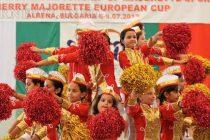 Мажоретният състав от Симеоновград спечели бронзови медали на XIV Европейски шампионат