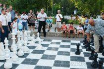 Ротари – Харманли създаде площадка за шах на открито