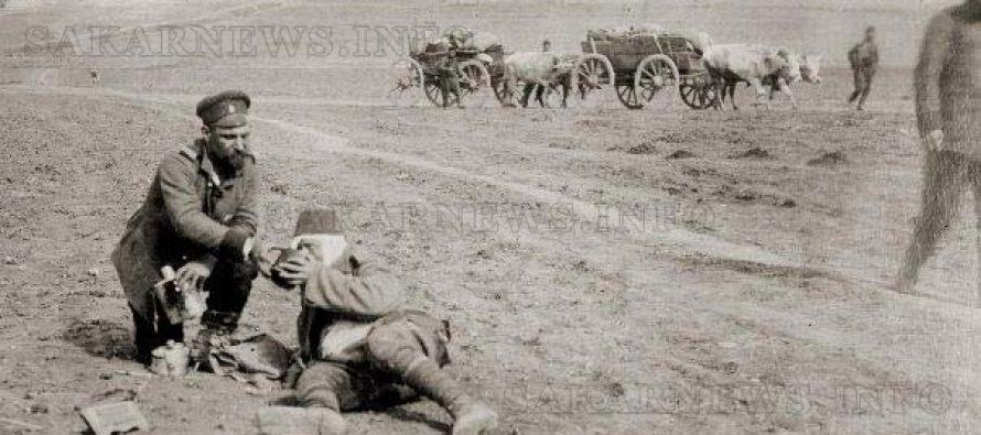 ВБалканските войни  българи се бият срещу българи