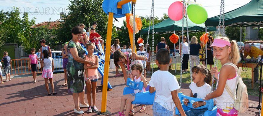 С две се увеличиха детските  площадки  в Хараманли
