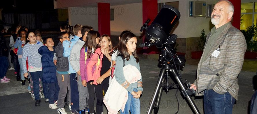 Ивайловградчани видяха планетата Сатурн