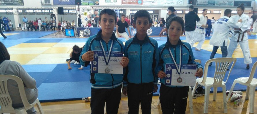 Джудистите на  Тополовград донесоха два медала от Гърция