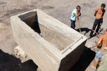 Откриха римски саркофаг край с. Бояново