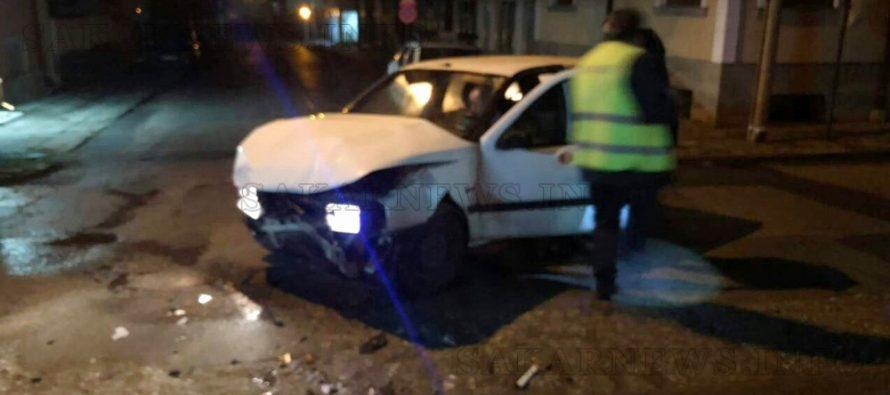 Пиян шофьор с колата си удари друга