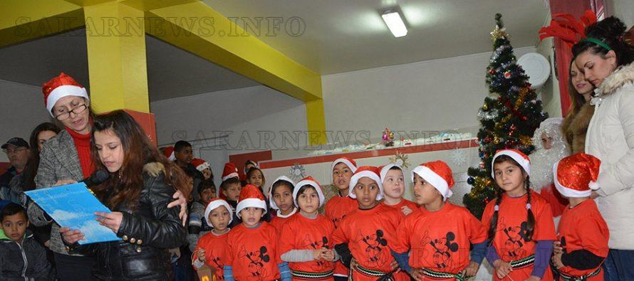 Дядо Коледа, Снежанка и джуджета бяха гости на ЦСОП – Харманли