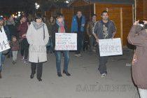 Свиленградчани на протест в защита на Национален парк Пирин