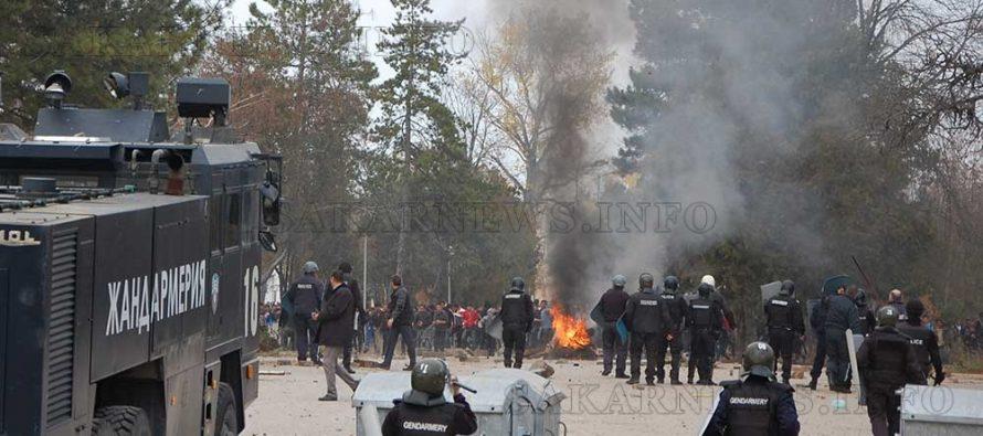Повдигнаха обвинения на погромаджиите в бежанския лагер в Харманли