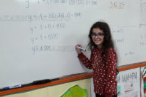 Четвъртокласничка от Харманли най-добра по математика в областта