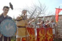"""Римски воини и Милена Славова на вила """"Армира"""""""