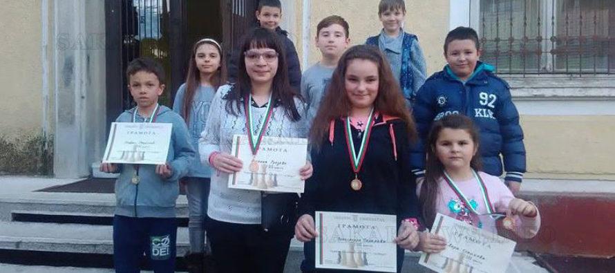 Шахматисти спечелиха четири медала от турнир