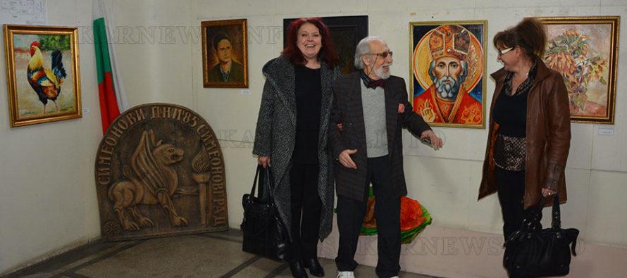 Картина на закрилника на Симеоновград дари художник