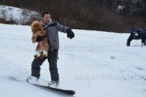 """Сноуборд вдига адреналина на  гостите на къща """"Алипиев"""""""