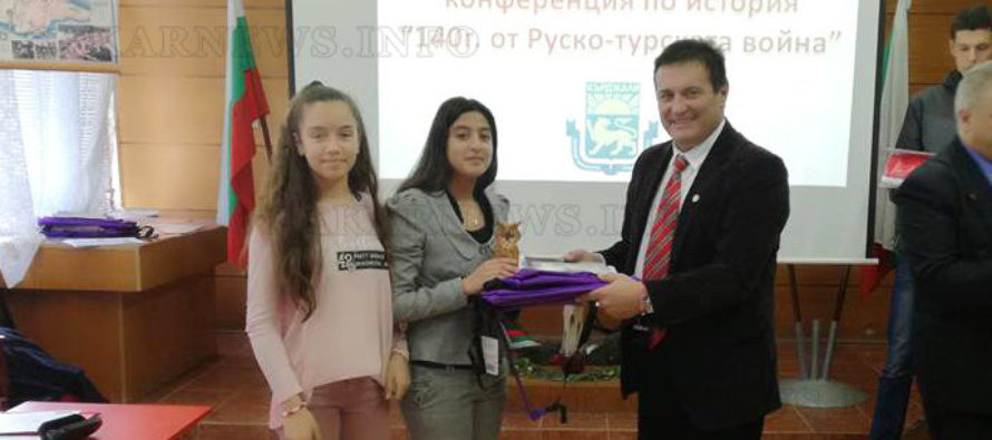 Ученици спечелиха отличия за свои презентации