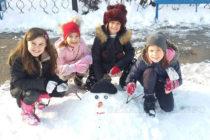 В конкурс за снежен човек участваха  ученици