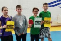 Начинаещи в тенис на маса  завоюваха успехи от два турнира