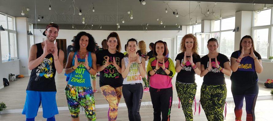 Инструктори по зумба и танцьори участваха в благотворителен клас