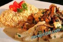 Филе с горски гъби