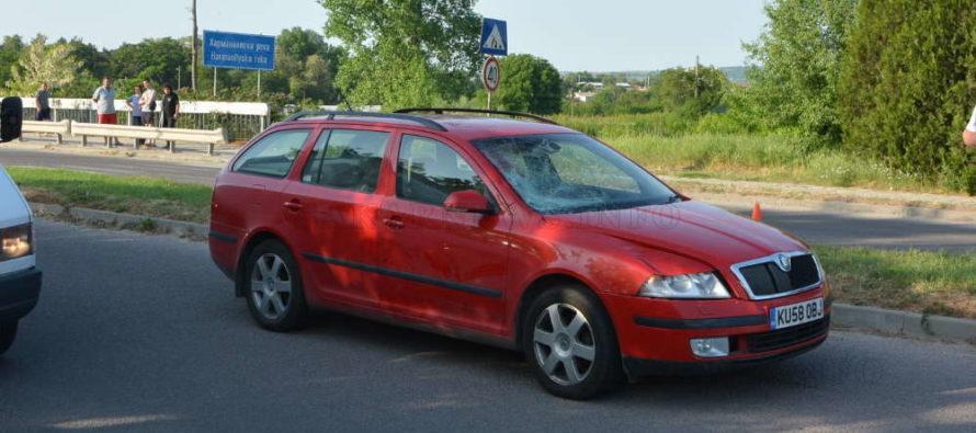 Кола удари пешеходец на Международния път Е80