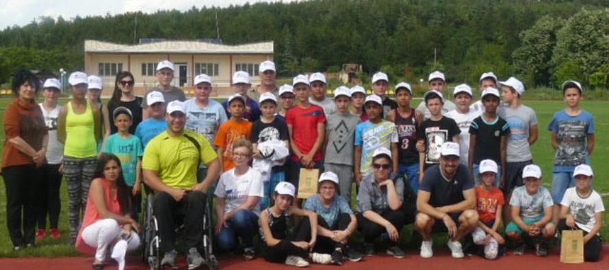 Млади спортисти отбелязаха Деня на българския спорт
