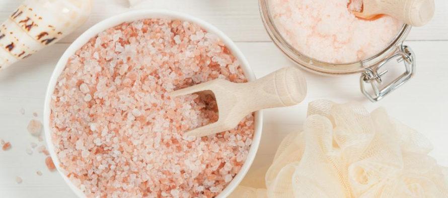 Как със сол да станете по-красиви?