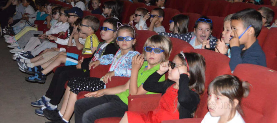 Денят на детето в Тополовград премина с гледане на 3D филми