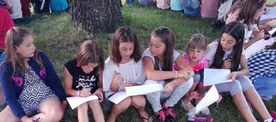 """Лагерът в Добринище повдигна патриотичния  дух на децата от ОУ """"Иван Вазов"""" – Харманли"""