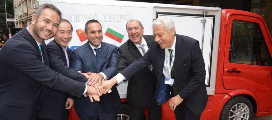Ще сглобяваме китайски електрокамиони в Пловдив